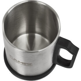CAMPZ Thermo Mug Steel 300ml black/silver